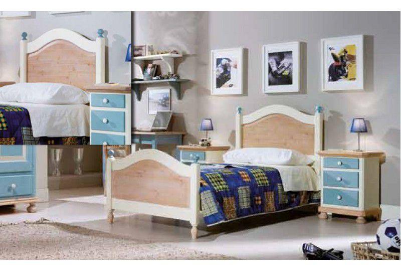 Dormitor Copii Bleu mobila clasica - Colectii Dormitor