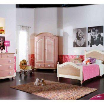 Dormitor Copii Roz Mobilier Clasic