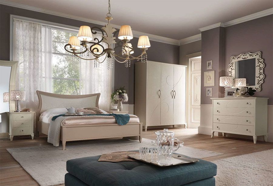 Dormitor Romantic 06 mobilier clasic - Colectii Dormitor