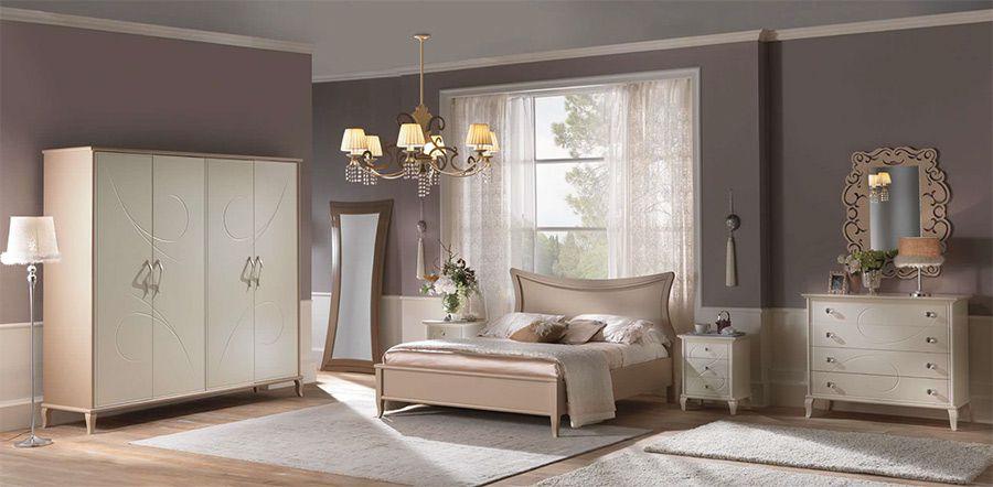 Dormitor Romantic 07 mobilier clasic - Colectii Dormitor