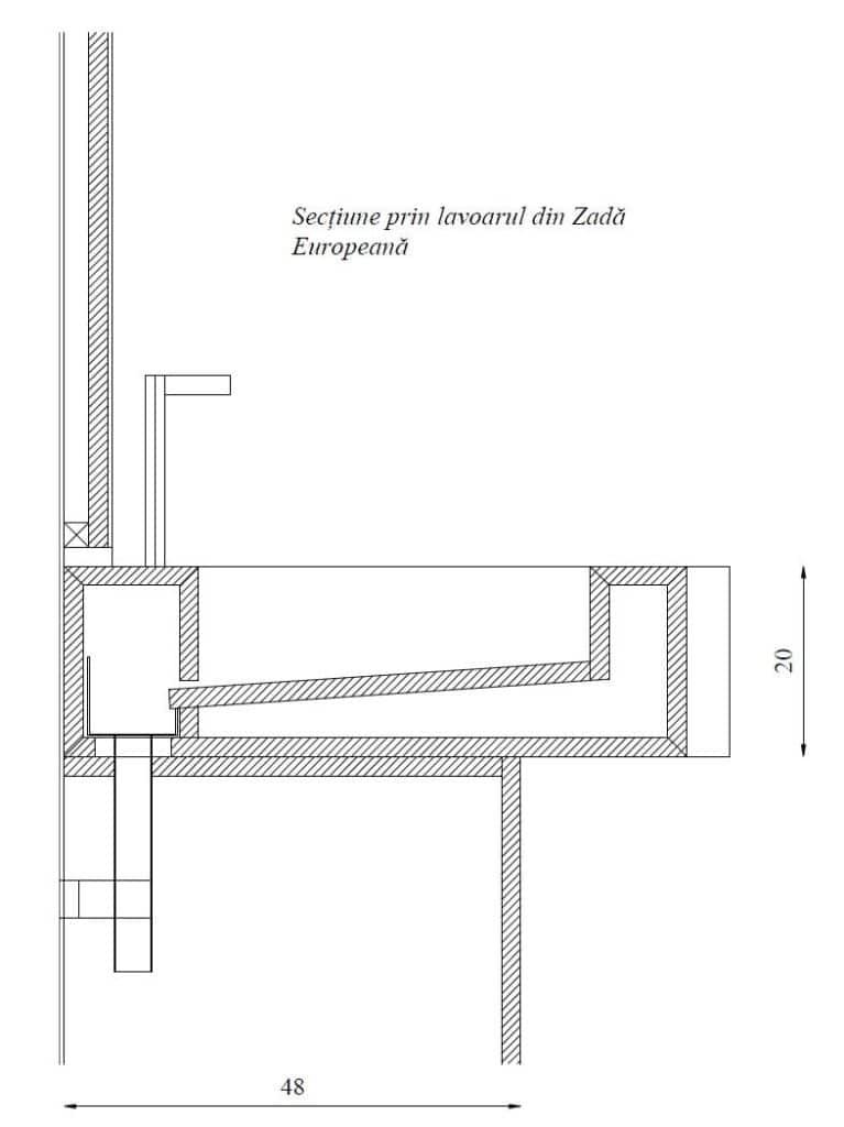 Mobilier baie din lemn MBE2,Mobilier baie