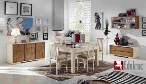 Mobilier Dining E04A Mobilier clasic din lemn