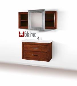 Set mobilier baie E2126A Mobilier clasic din lemn