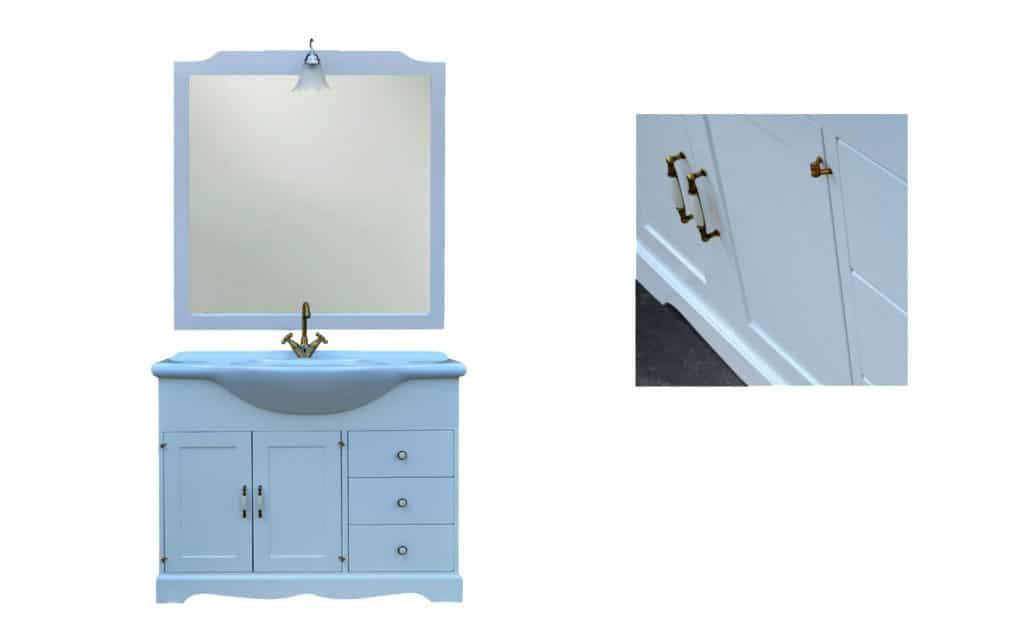 Set Baie E9550ncs,mobilier baie,mobilier lemn